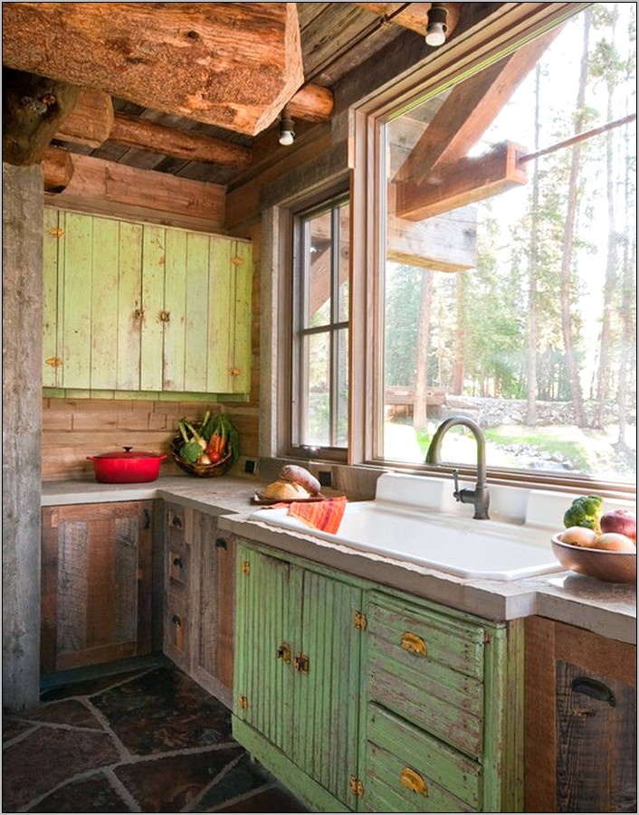 Rustic Kitchen And Dining Room Ideas