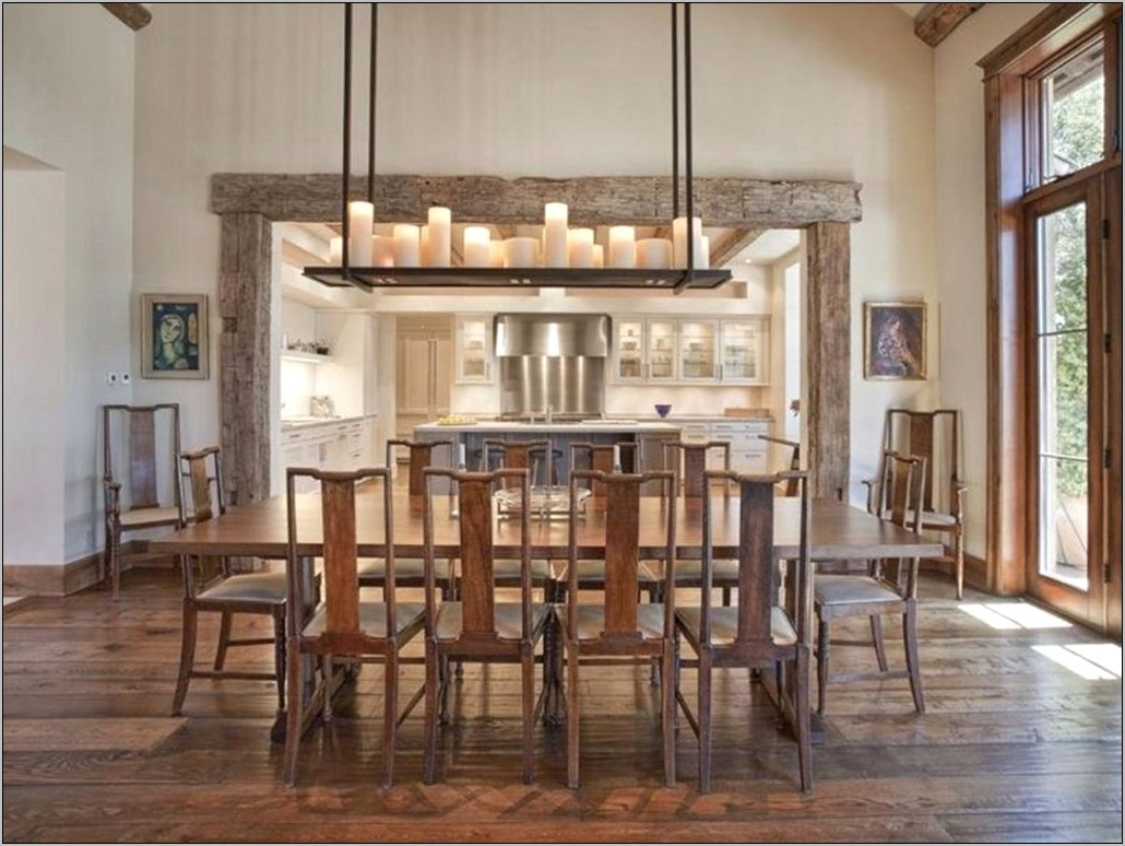 Rustic Lighting Ideas For Dining Room