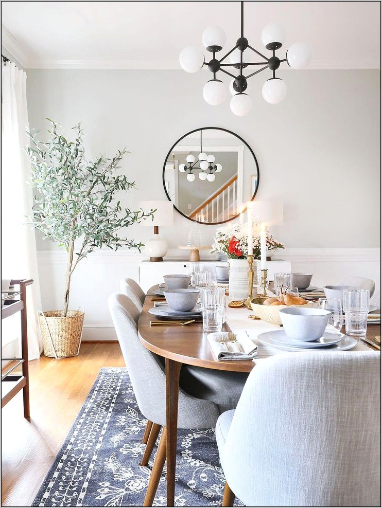 Simple Dining Room Decorations