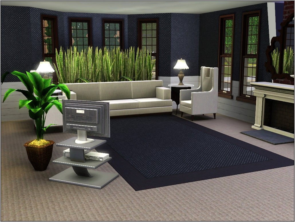 Sims 3 Blue Dining Room Ideas