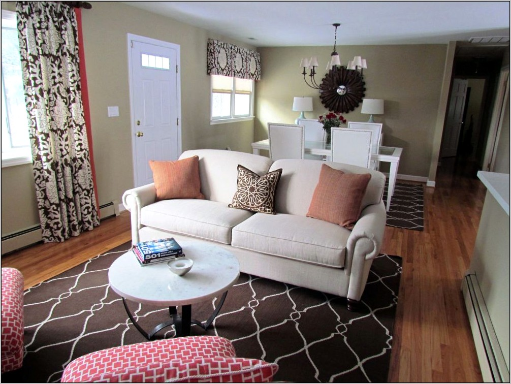 Small Living Dining Room Combo Design Ideas