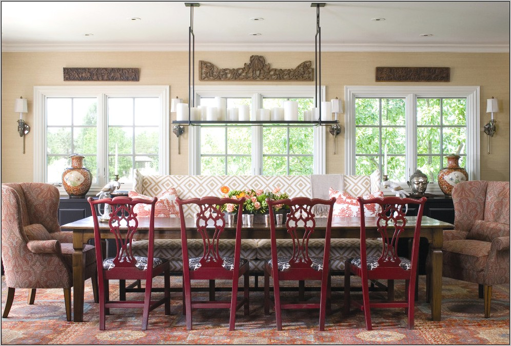 Upholstered Decorative Dining Room Chairs