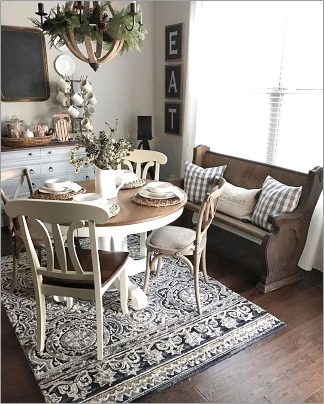 Vintage Decorations For Dining Room