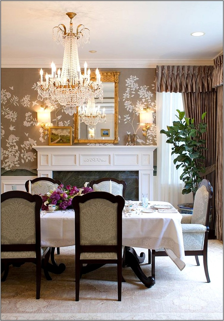 Wallpaper Ideas For The Dining Room