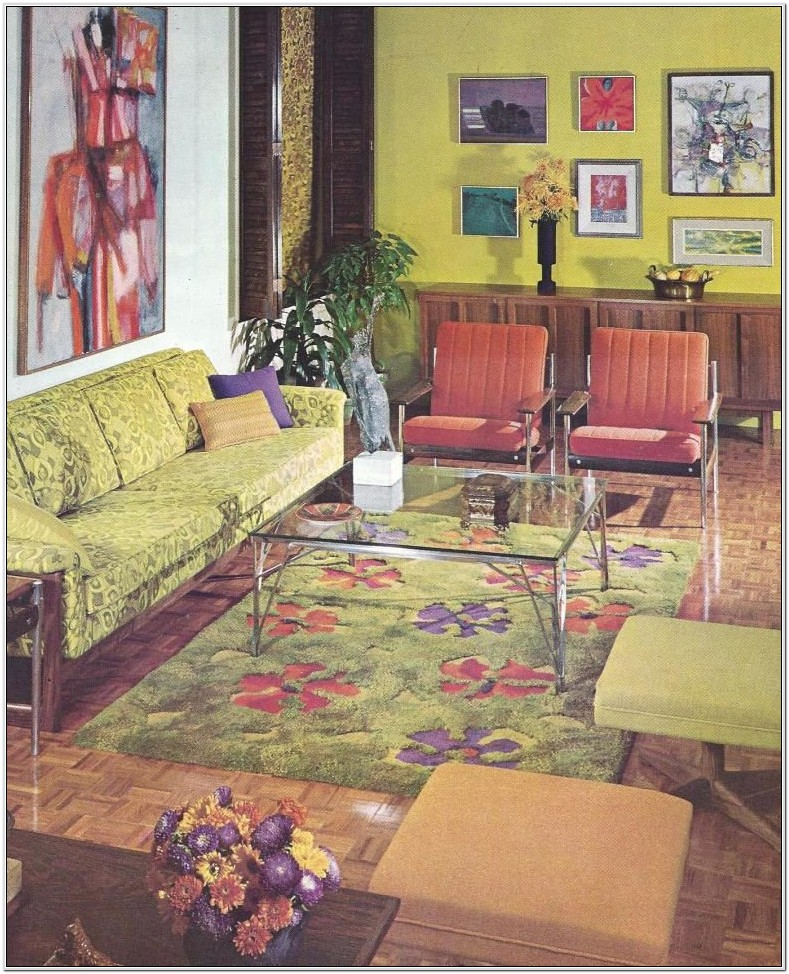 1960s Decorating Style Living Room