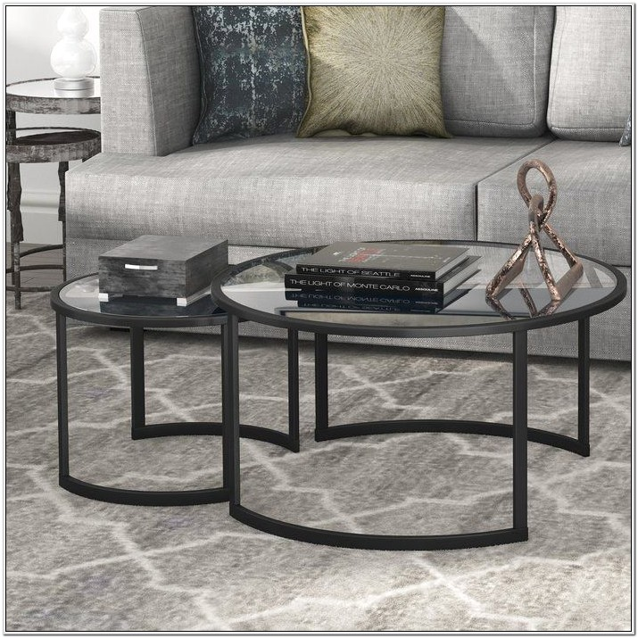 2 Piece Living Room Table Set