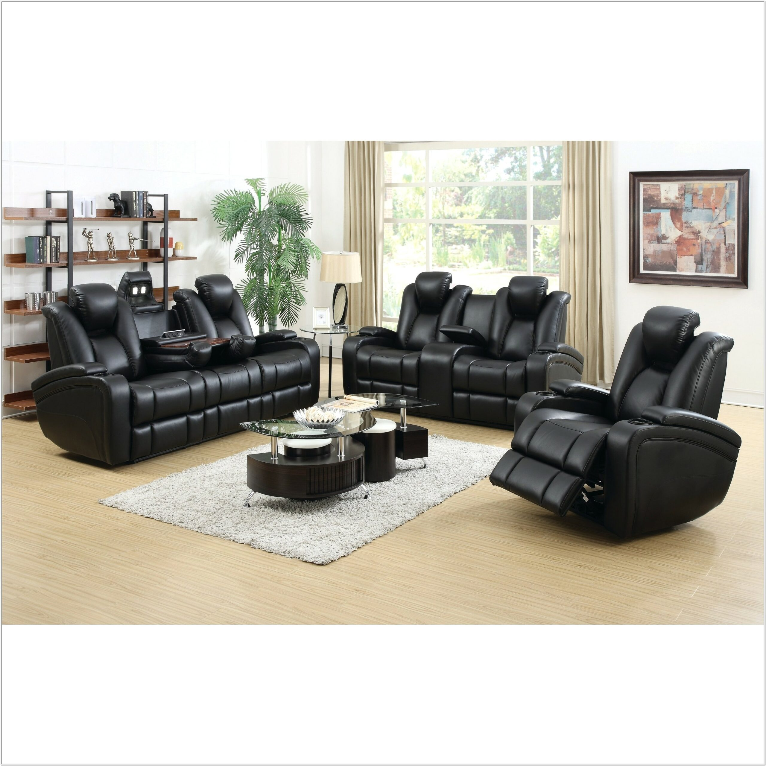 3 Piece Motion Living Room Set