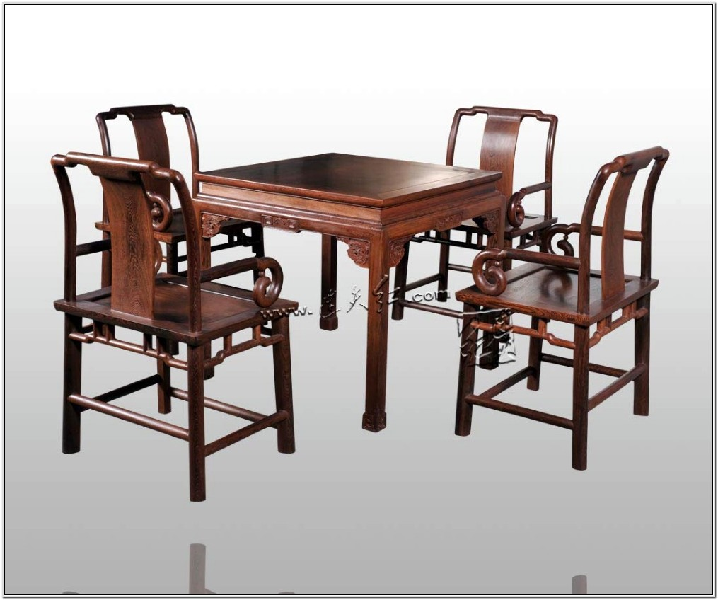 4 Chair Living Room Set