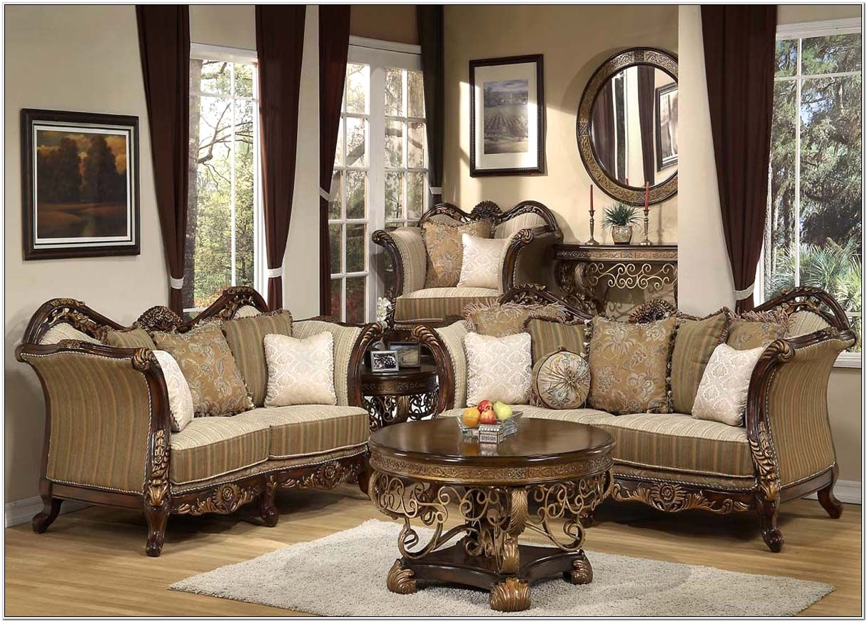 Antique Style Living Room Sets