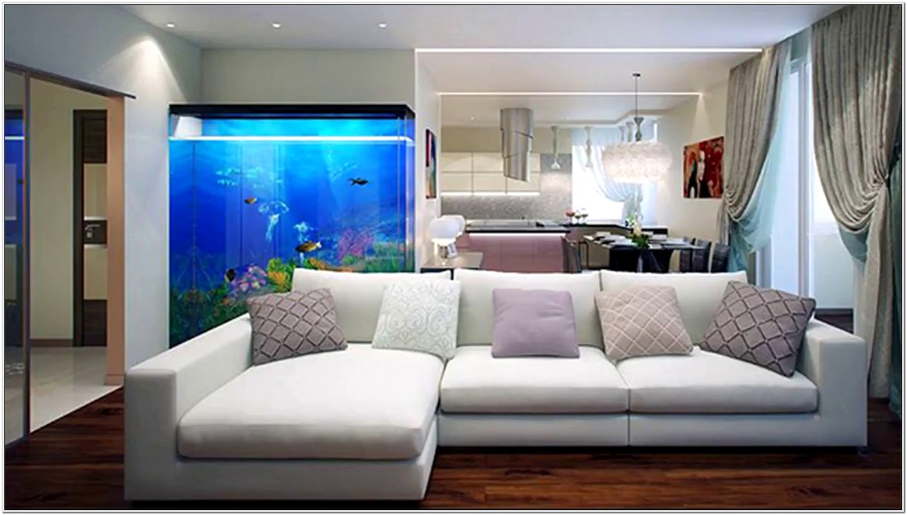 Aquarium Living Room Ideas
