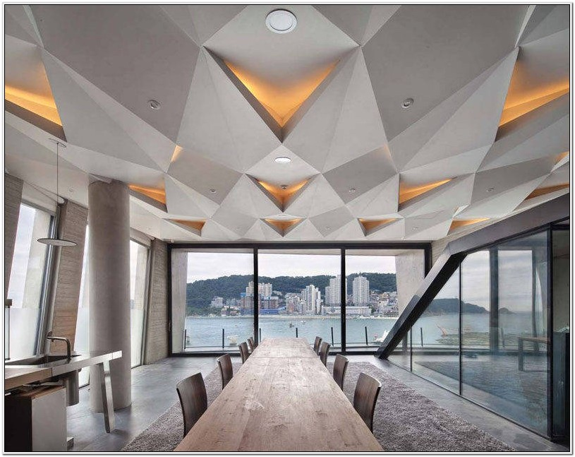 Architectural Ceiling Designs Living Room