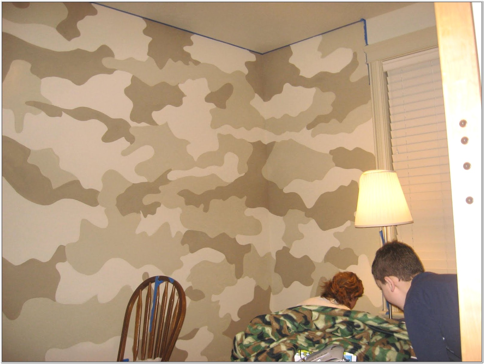 Army Camo Bedroom Decor