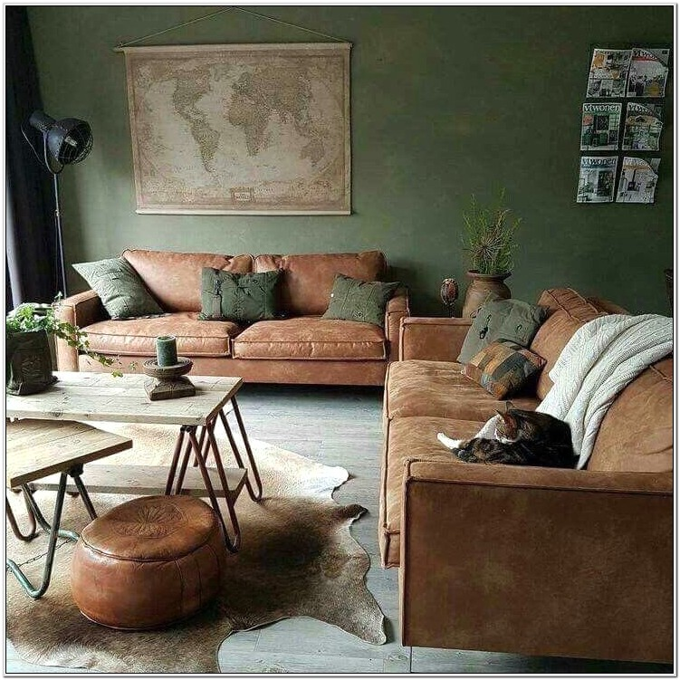Army Green Living Room Ideas