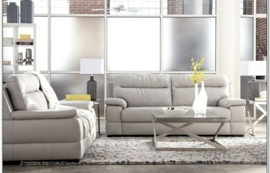 Ashley Furniture Gray Living Room Set