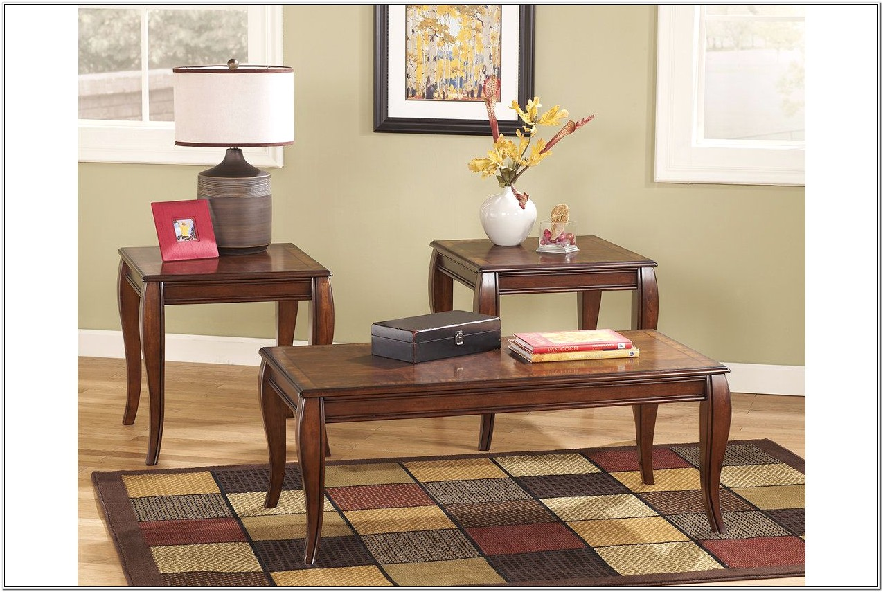 Ashley Furniture Living Room Table Set