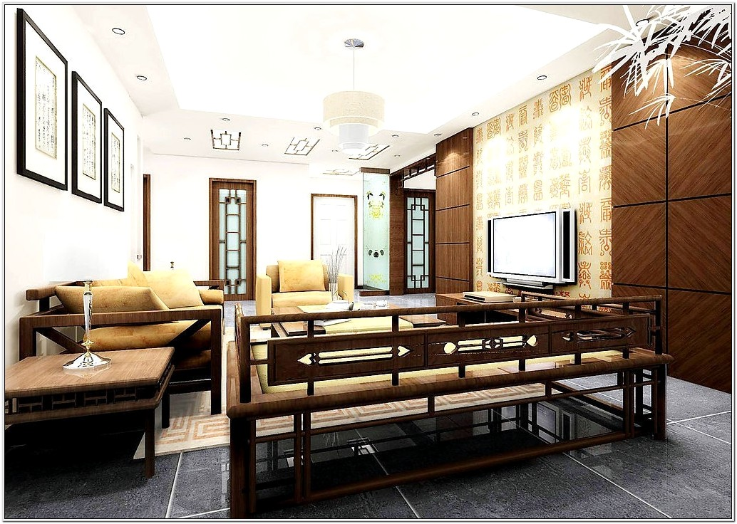 Asian Or Chinese Furniture Living Room Set