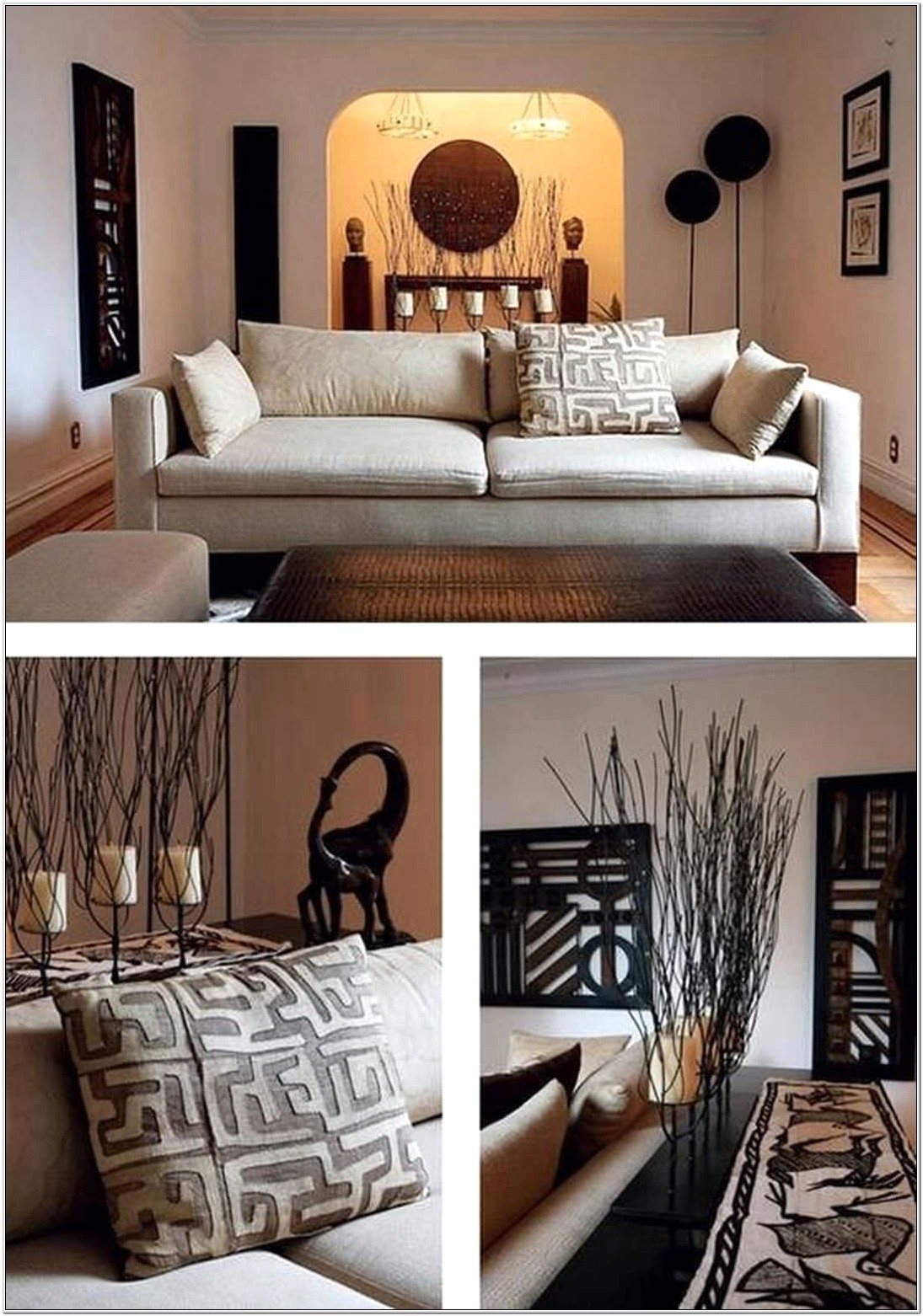 Asian Themed Living Room Decor