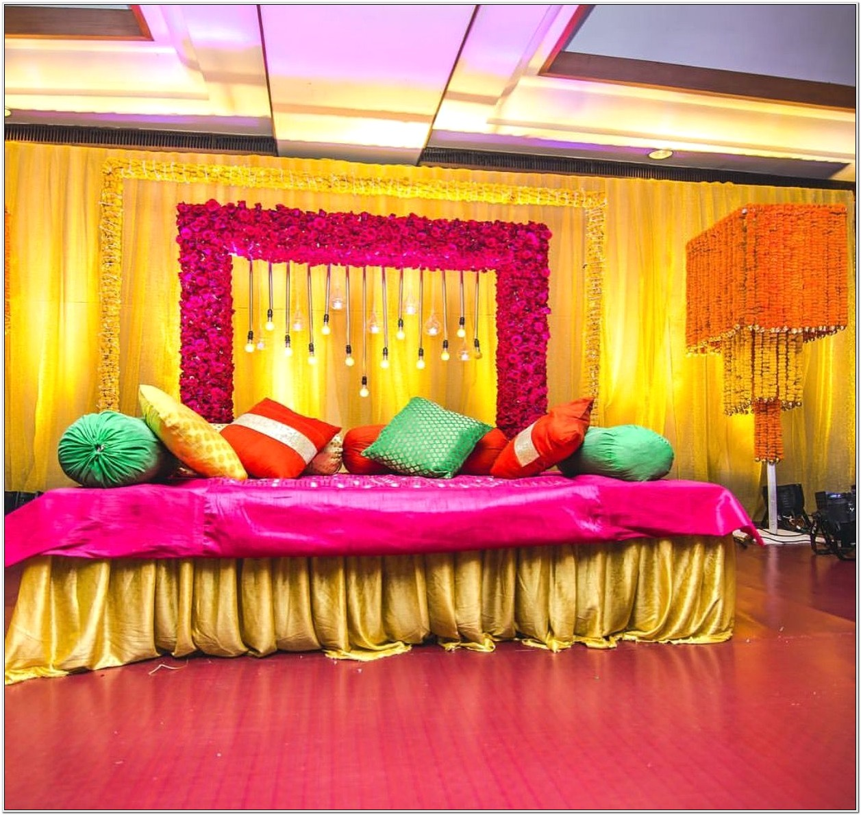 Asian Wedding Bedroom Decoration