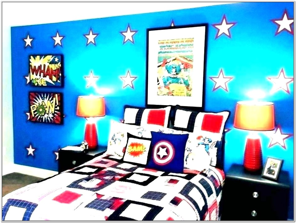 Avengers Decorating Ideas For Bedroom