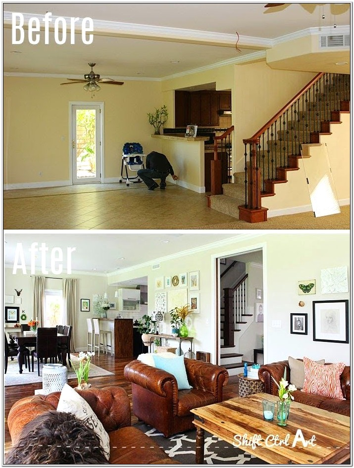 Awkward Townhouse Small Fireplace Living Room Stairs