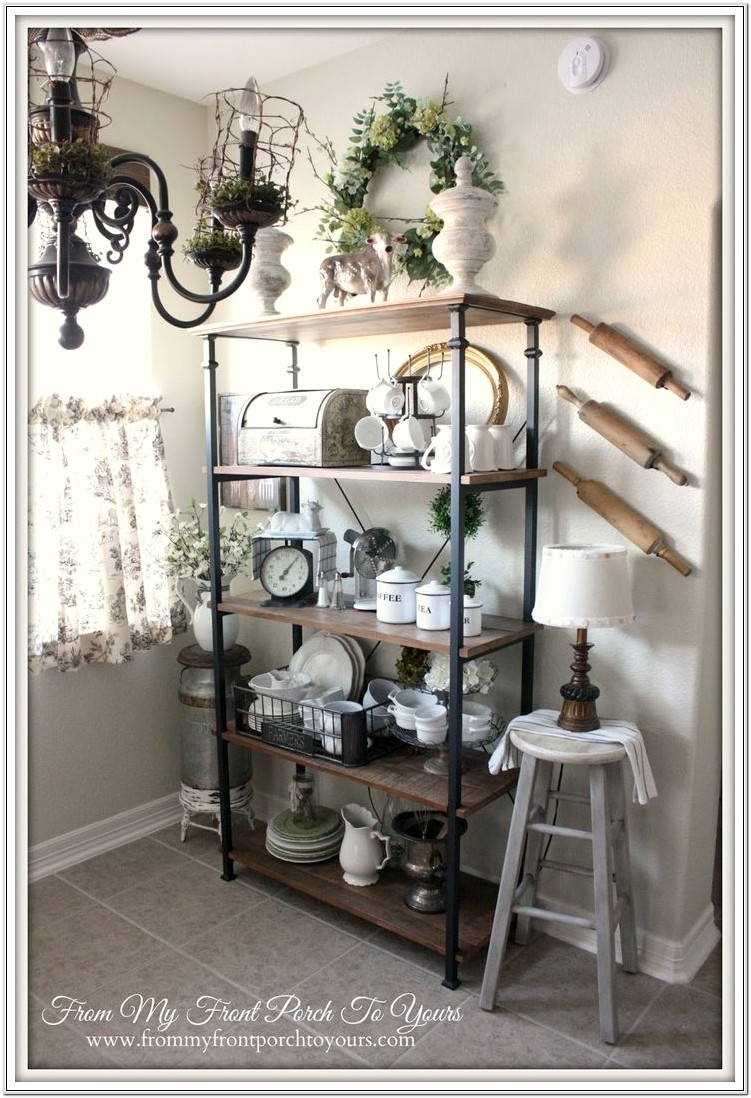 Bakers Rack Decorating Ideas Living Room