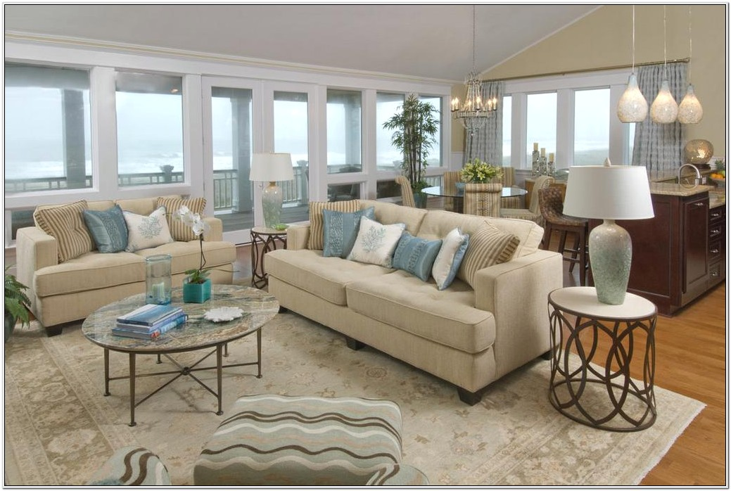 Beach House Design Living Room