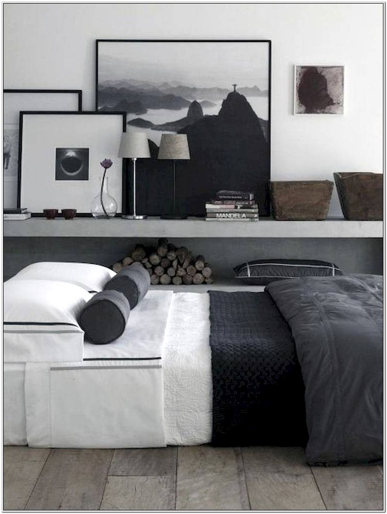 Bedroom Decor Wall Art Single Male