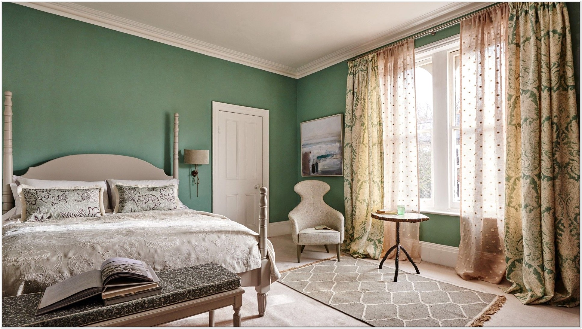 Bedroom Decor With Sage Green Walls