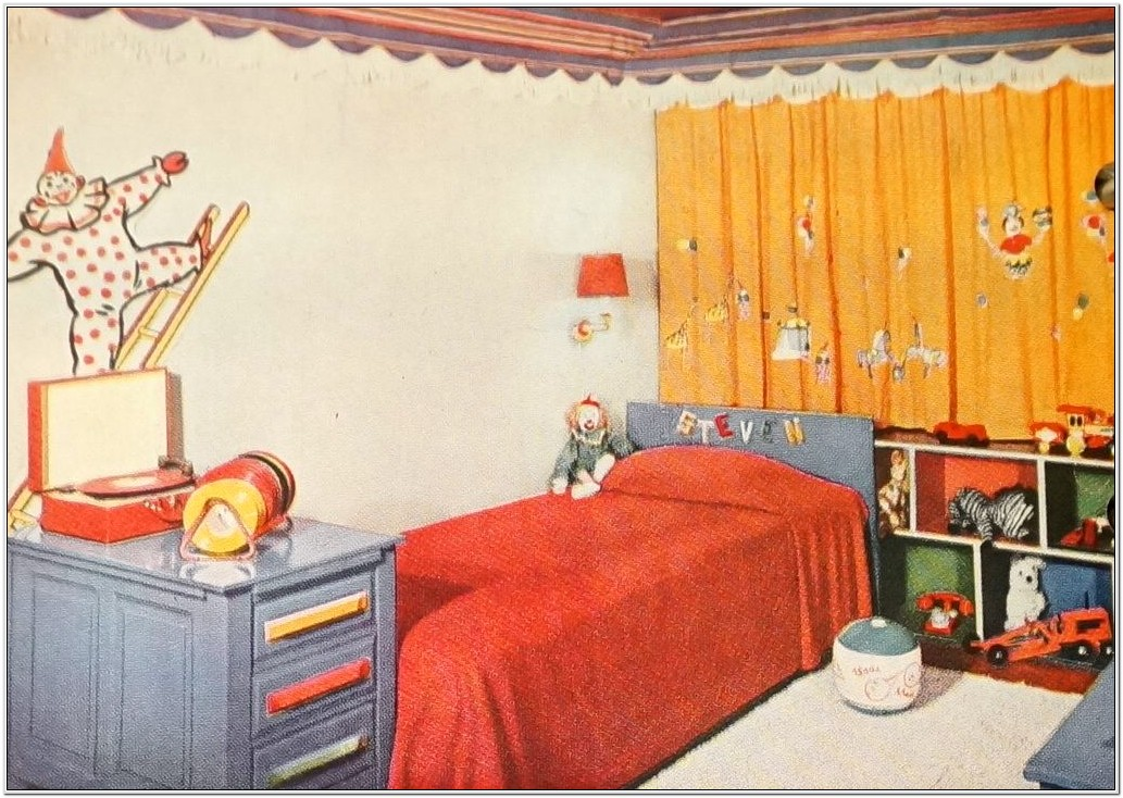 Bedroom Decorating For Kids 1970s Book