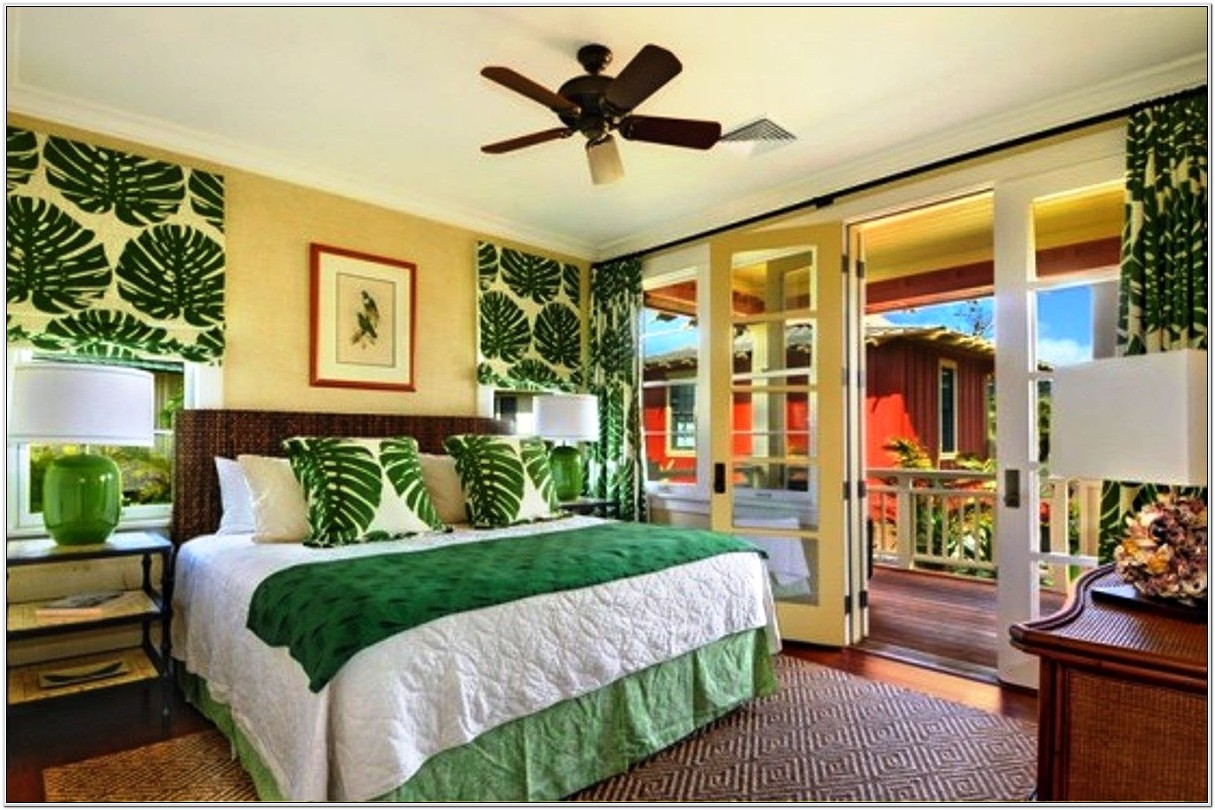 Bedroom Decorating Ideas For Tropical