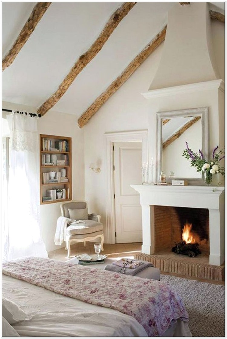 Bedroom Fireplace Decorating Ideas