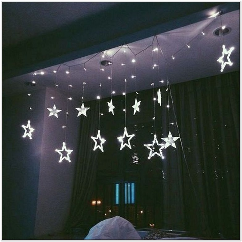 Bedroom Room Decoration With Lights