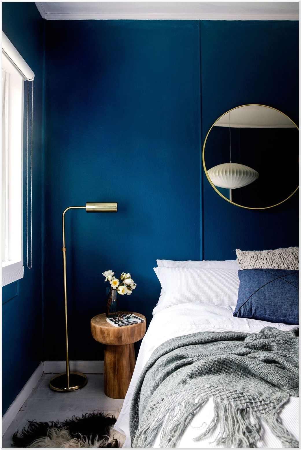 Bedrooms Decorated In Blue And Yellow