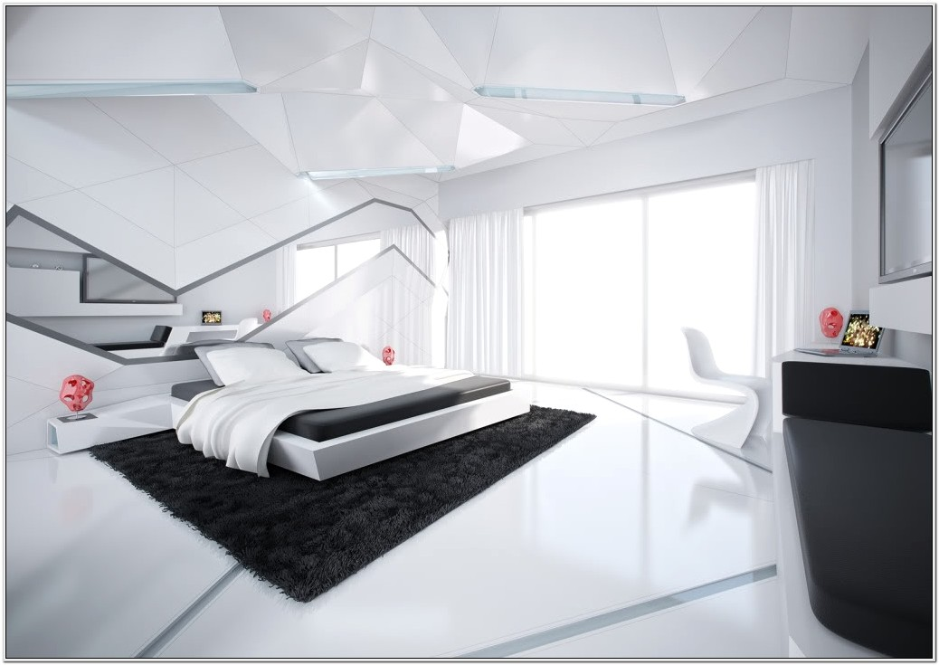 Black Future Style Bedroom Decor