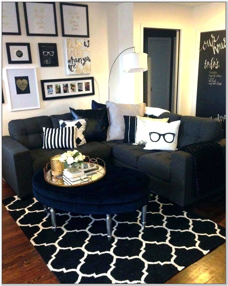 Black White And Grey Living Room Ideas
