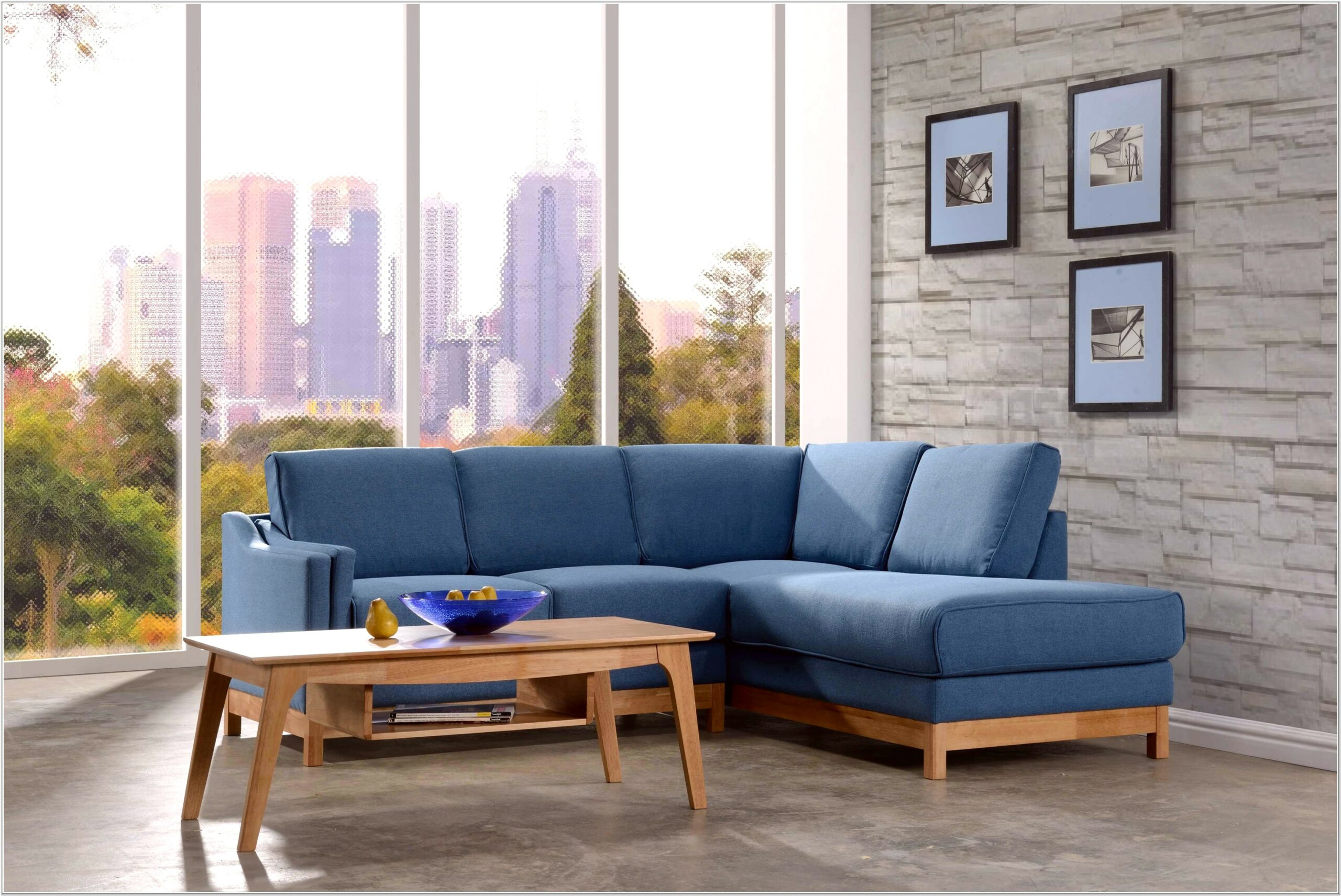 Blue Sofa Living Room Decor Ideas