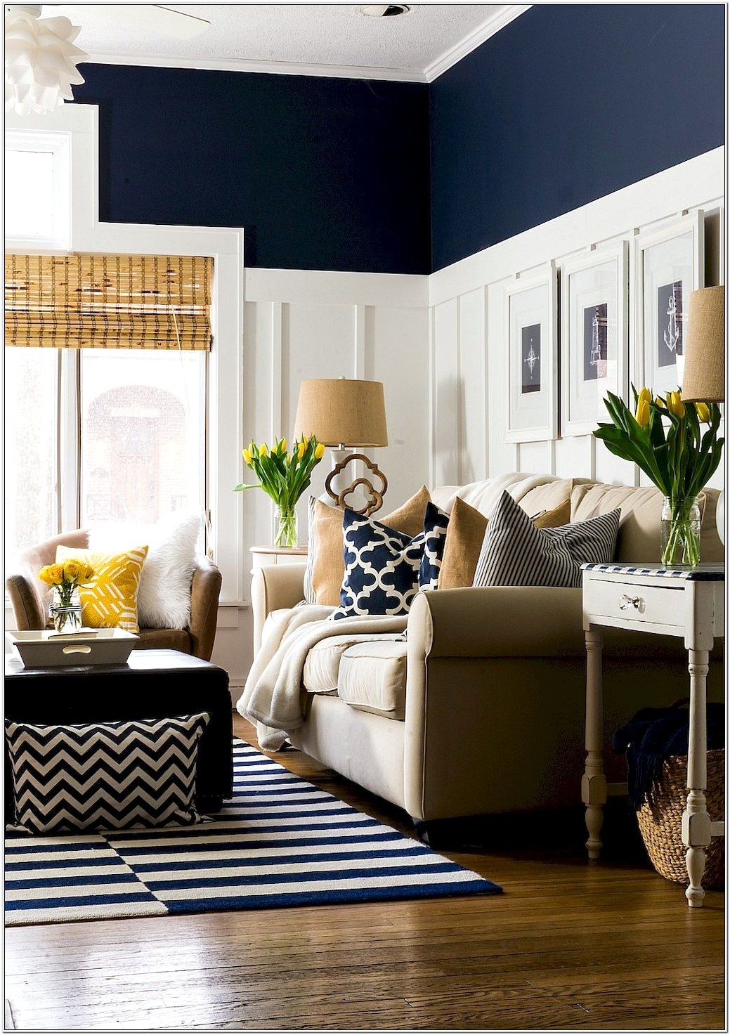 Blue Themed Living Room Ideas