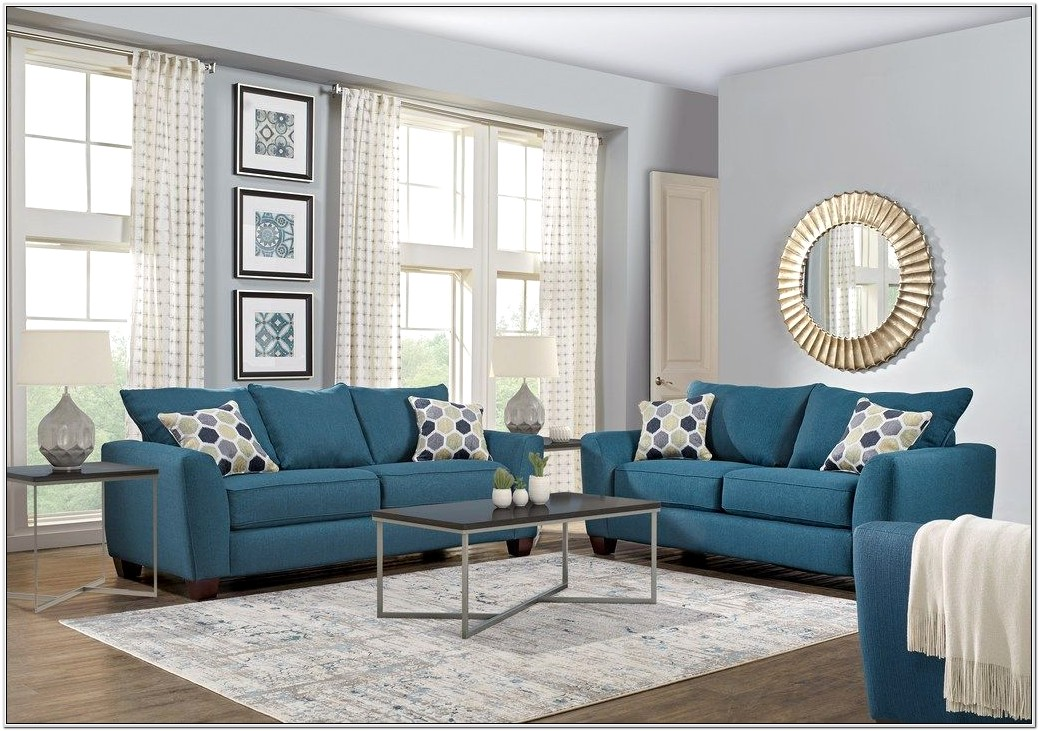 Bonita Springs Blue Living Room Set