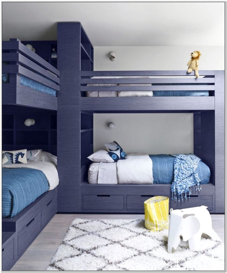 Boys Bedroom Decor With Bunk Beds
