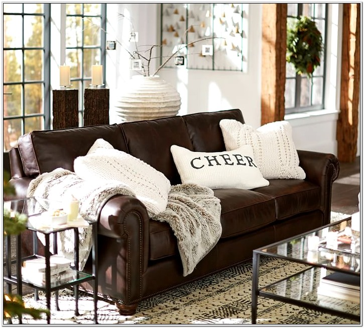 Brown Couch Decor Living Room