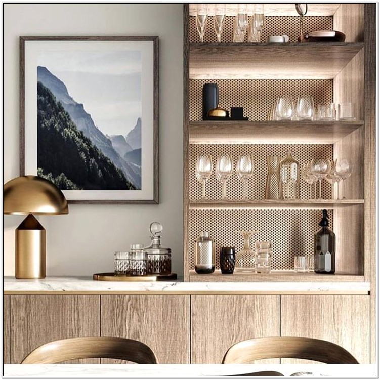 Built In Living Room Cabinets Designs