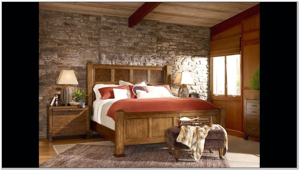 Cabin Or Country Bedroom Decorating Ideas