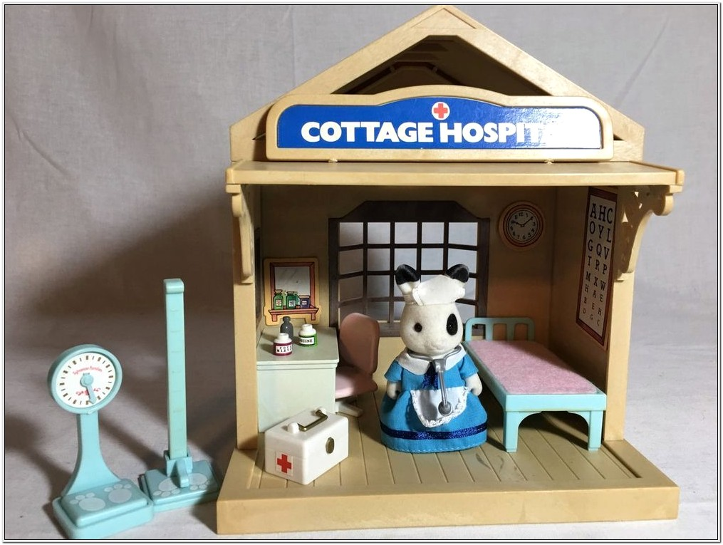Calico Critters Comfy Living Room Set Instructions
