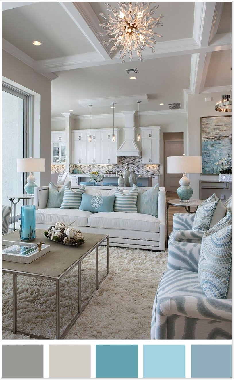 Calming Small Living Room Decorating Ideas