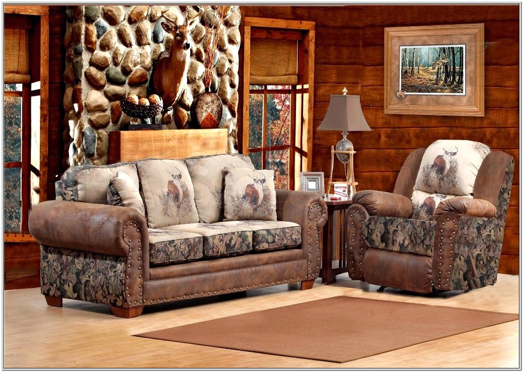 Camo Living Room Set From Aarons
