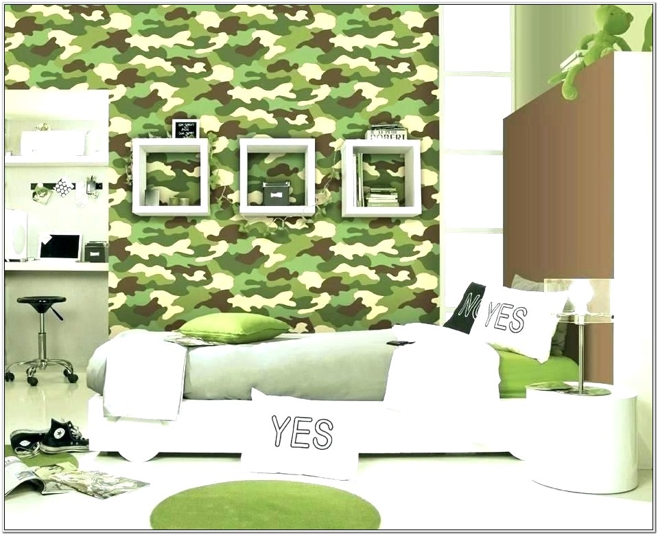 Camouflage Bedroom Decorating Ideas