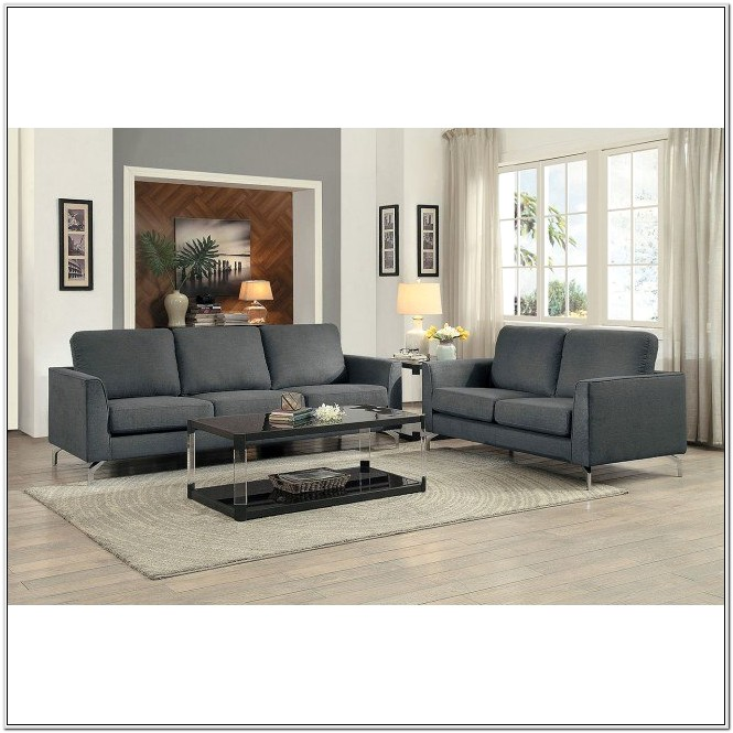 Canaan Gray Living Room Set Ashley
