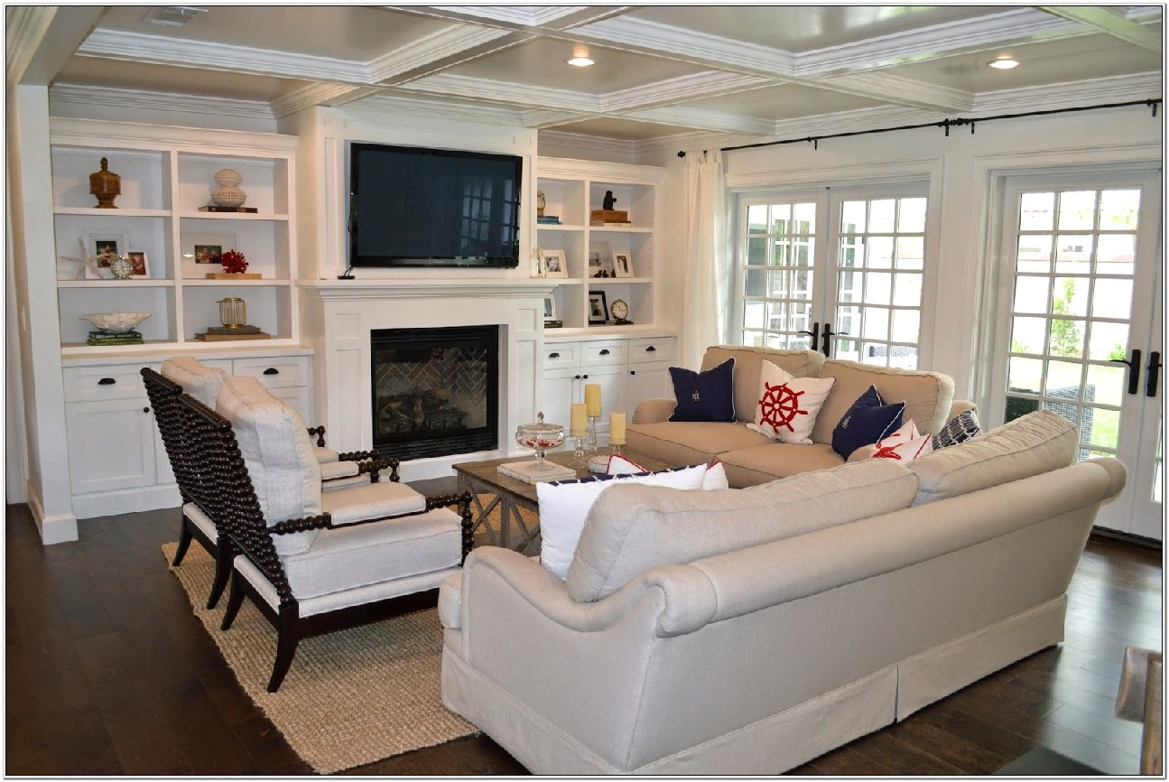 Cape Cod Living Room Design