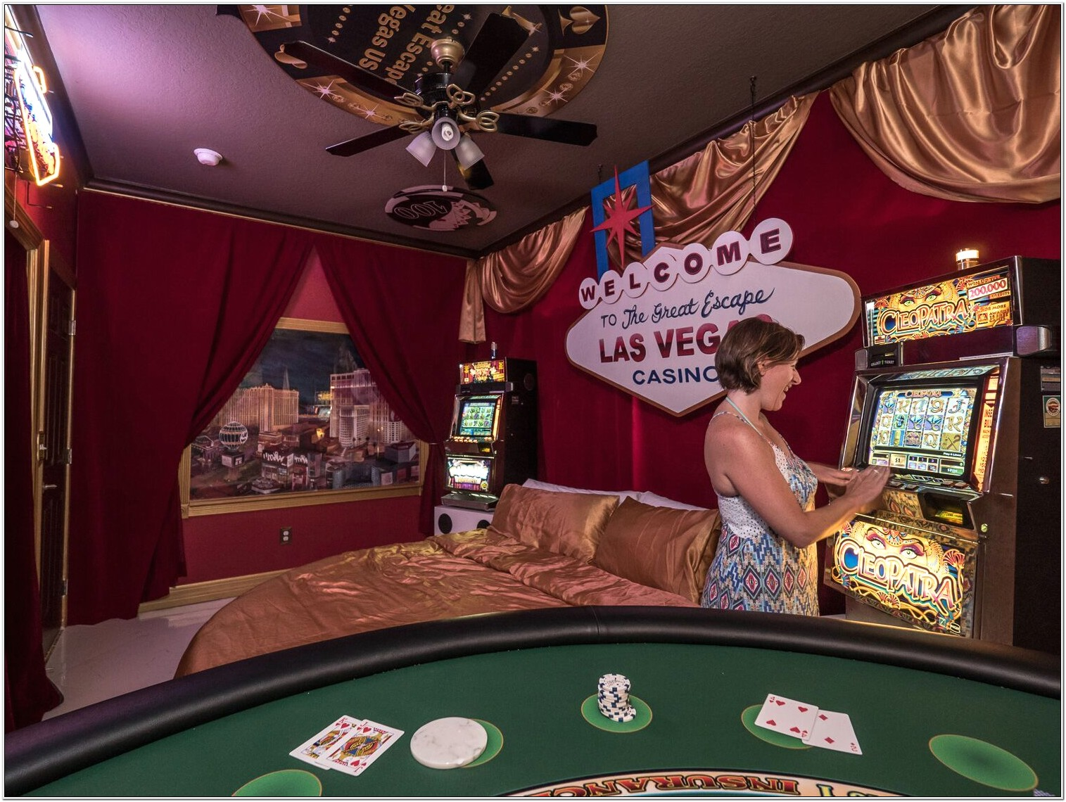 Casino Themed Bedroom Decor