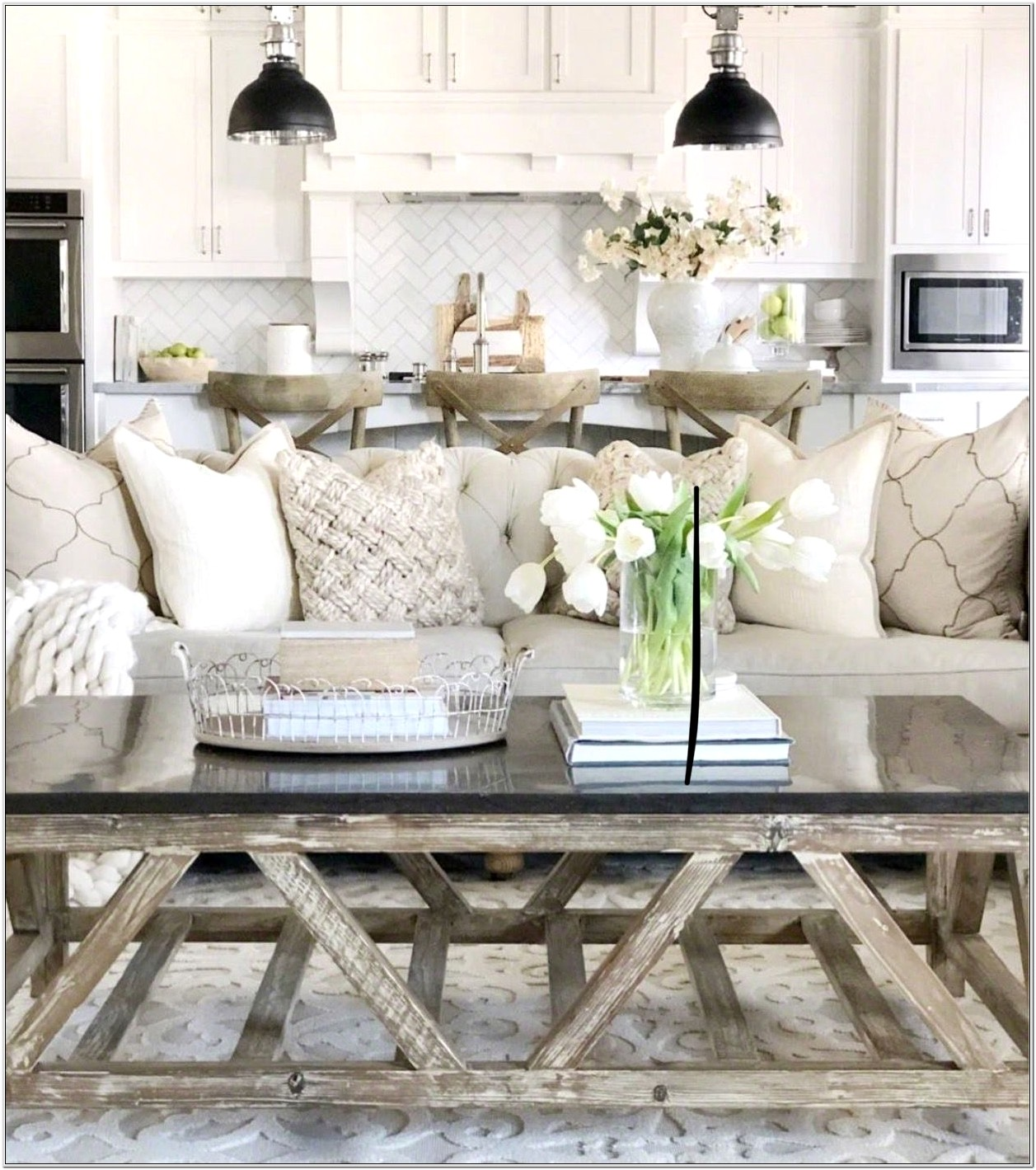 Cheap Country Living Room Ideas